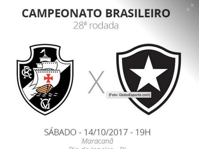 Após 6 partidas sem torcida em campo, Vasco enfrenta Botafogo hoje