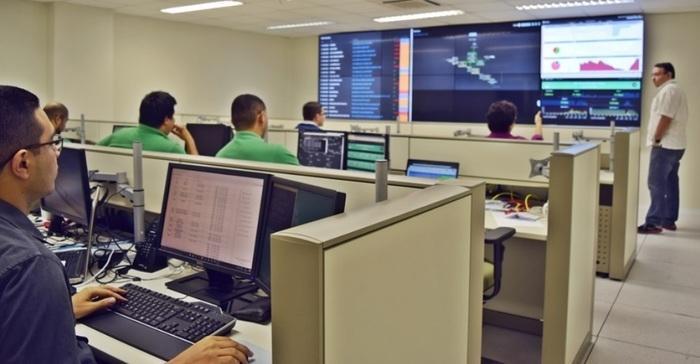 Centro de Operações, Monitoramento e Data Center Nelson Alves de Souza (Crédito: Valciãn Calixto)