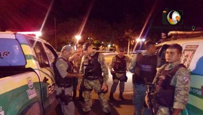 Bandidos armados roubam veículo e fogem para Teresina