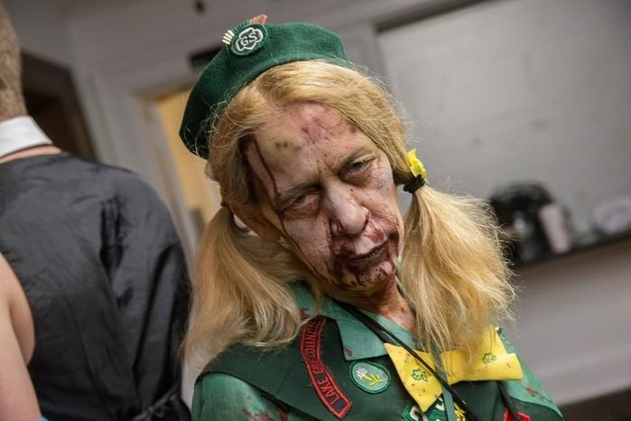 Parada zumbi em Nova Jersey, nos Estados Unidos (Crédito: Peter Ackerman/The Asbury Park Press via AP)