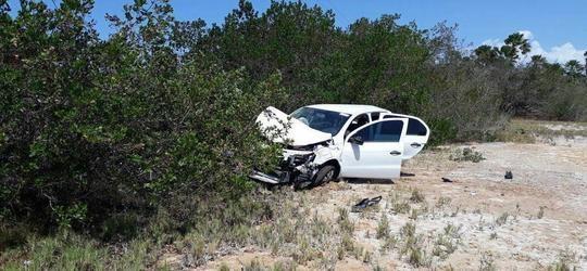 Timonense morre após carro com colombianos capotar no litoral do PI