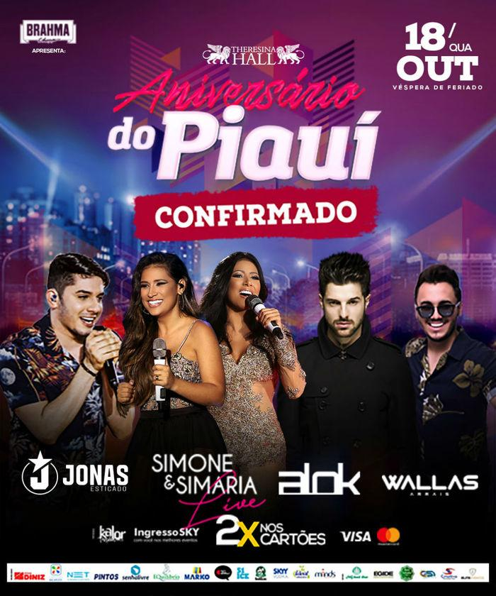 Aniversário do Piauí agitará a cidade