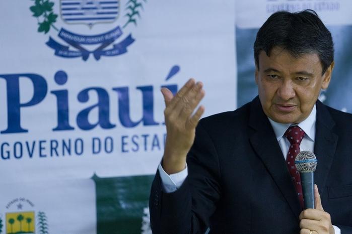 Wellington Dias entregou à população o novo Data Center Nelson Alves Souza (Crédito: João Albert)