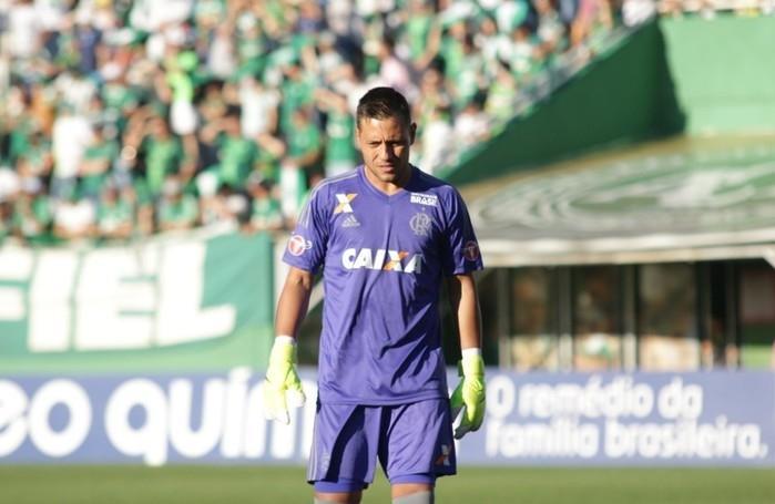 Diego Alves teve destaque na vitória do Flamengo contra a Chape (Crédito:  Gilvan de Souza/Flamengo)
