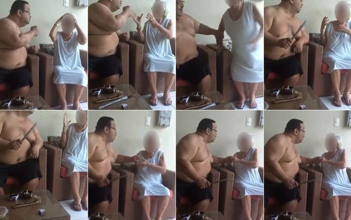 Roberto Elísio foi preso após divulgação do vídeo (Crédito: Reprodução)