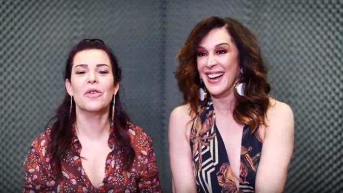 Claudia Raia deu entrevista para Fernanda Souza