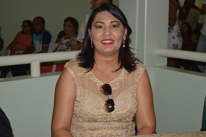 Vereadora Francisca de Lima Rodrigues (Crédito: Reprodução)