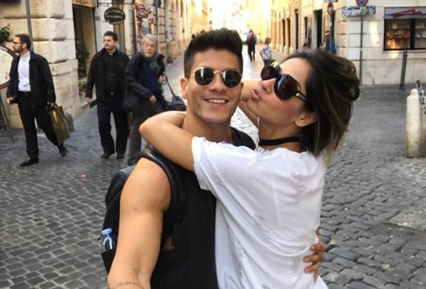 Arthur Aguiar e Mayra Cardi em Veneza (Crédito: Reprodução/ Instagram)