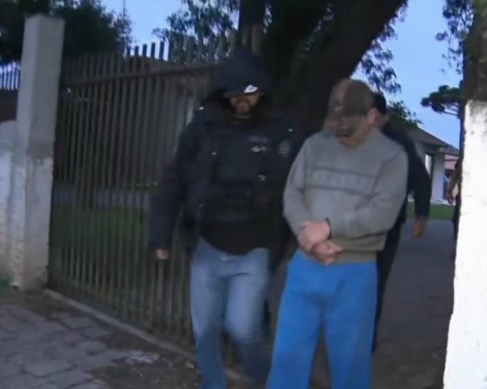 Ex-gerente foi preso nesta terça-feira (17) (Crédito: Reprodujção/RPC)