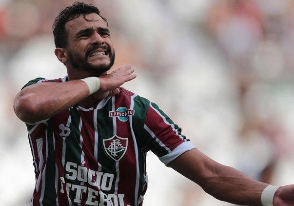 Henrique Dourado, o ceifador (Crédito: Fluminense)