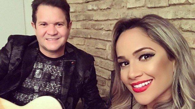 Ximbinha e  Michele Andrade