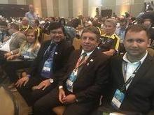 Paulo Robert participa de evento internacional em Brasília