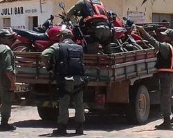 Policia Militar apreende veículos em Redenção do Gurguéia