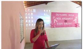 CAPS de Inhuma realiza Palestra no mês Outubro Rosa