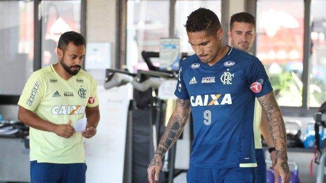 Paolo Guerrero (Crédito: Gilvan de Souza / Flamengo)