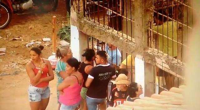 Jaula onde o comerciante morreu em Barra da Corda, no Maranhão (Crédito: TV Mirante)