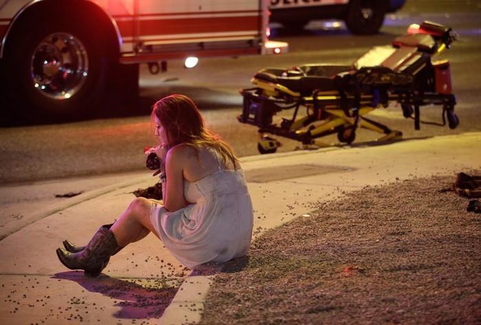 Massacre matou 58 pessoas em Las Vegas  (Crédito: AP)