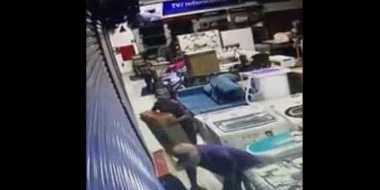 Jovem é preso após mãe reconhecê-lo em vídeo de furto a loja
