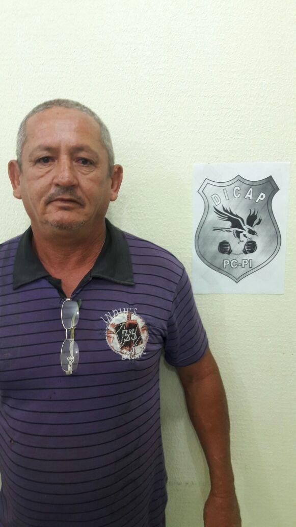 Criminoso foi preso em sua residência (Crédito: Reprodução/Polícia Civil)