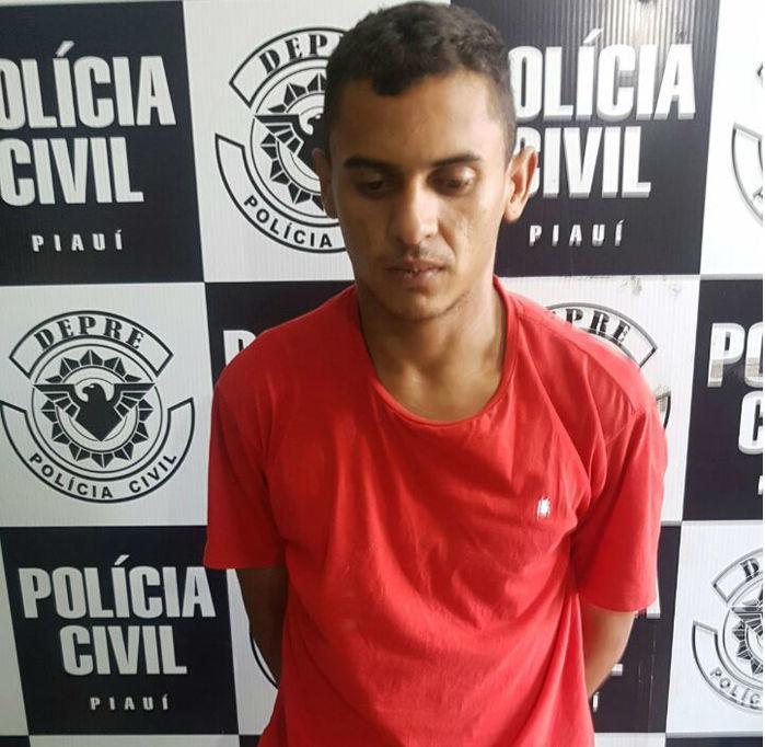 Erbimael Alves Primo da Silva, preso com drogas na cueca em Teresina