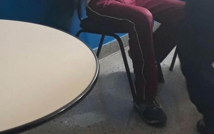 Adolescente suspeito de matar dois em escola em Goiânia (Crédito: TV Anhanguera/ Globo)