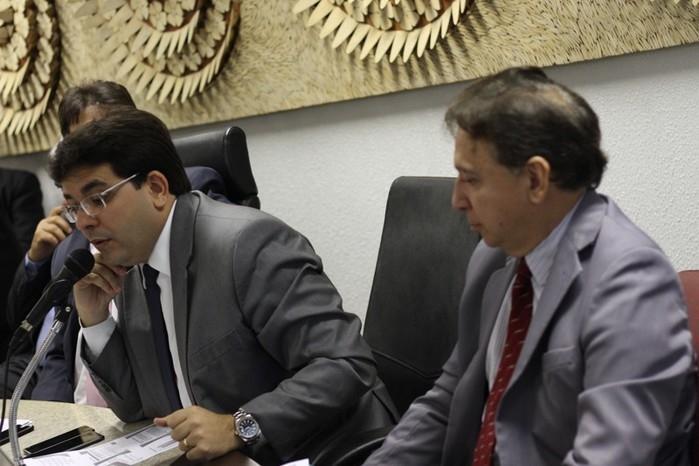 Secretário de Fazenda, Rafael Fonteles (Crédito: Alepi)