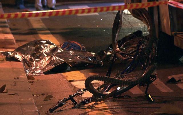 Corpos de adolescentes mortos após atropelamento em São Paulo (Crédito: Rede Globo)