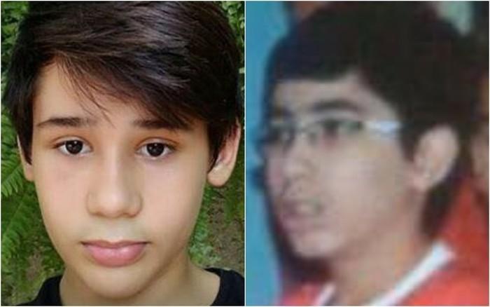 João Pedro Calembo (à esquerda) e João Vitor Gomes morrem após tiros em escola de Goiânia (Crédito: TV Anhanguera )
