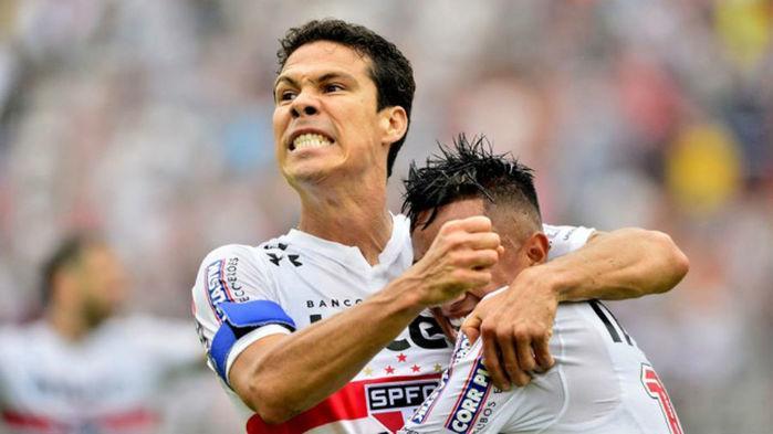 Hernanes marcou um dos gols da partida (Crédito: GE)