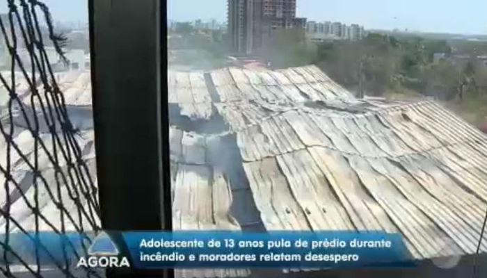 Prédio de distribuidora atingida por incêndio pode desabar (Crédito: Rede Meio Norte)