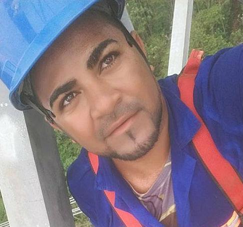Piauiense José Iran de Castro, morto após cair de uma torre no Pará (Crédito: Fabionascimentonoticia)