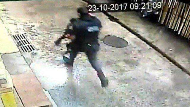 Tenente que atirou e matou turista na Rocinha (Crédito:  Agência O Globo)