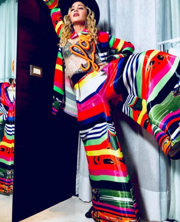 Madonna  (Crédito: Reprodução/Instagram)