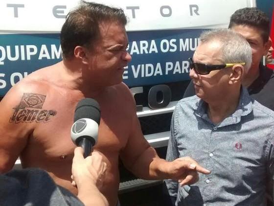 Vaza suposto vídeo íntimo de deputado que tatuou nome de Temer