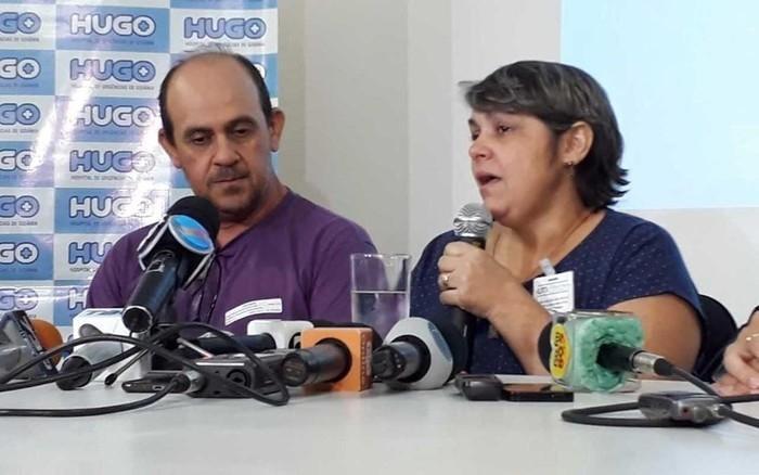 Pais afirmaram que a jovem ainda não sabe da paraplegia  (Crédito: Vitor Santana/G1)