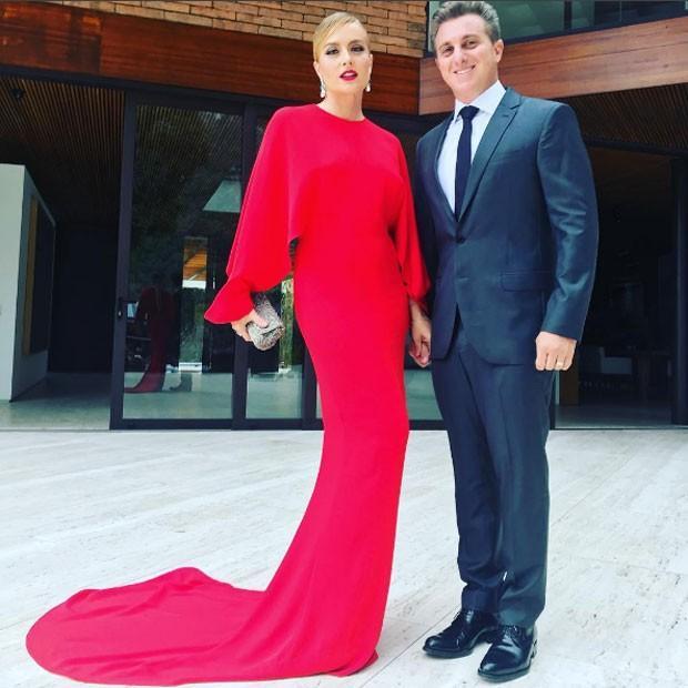 Angélica e Luciano Huck  (Crédito: Reprodução/ Instagram)