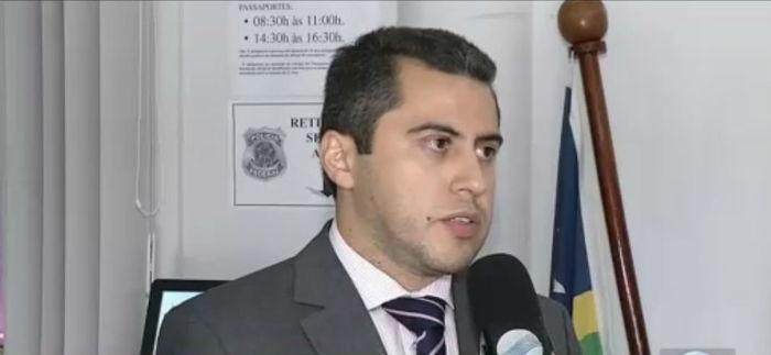 Delegado Reinaldo Camelo, da Polícia Federal  (Crédito: Rede Meio Norte)