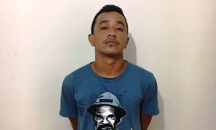 Criminoso foi preso no momento da fuga (Crédito: Reprodução)