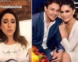 Natália Guimarães defende KLB e responde Tatá: 'Pegaram pesado'
