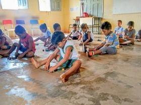 Creche realiza festa em comemoração ao Dia das Crianças
