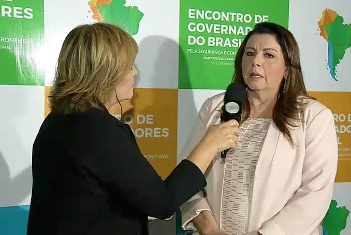 Governadora de Roraima (Crédito: Reprodução/TV Meio Norte)