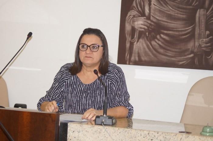 Presidente do CRM-PI, Drª Mírian Parente