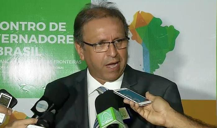 Governador do Tocantins (Crédito: Reprodução/TV Meio Norte)