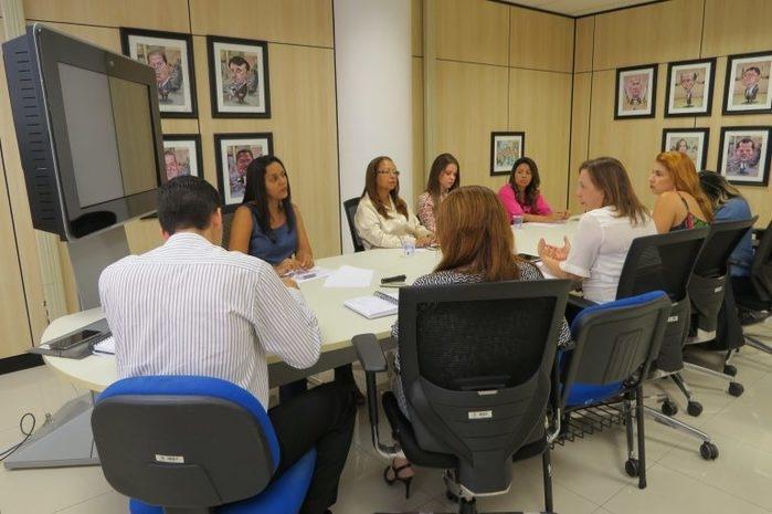 Rede de Ouvidorias do Estado do Piauí se reuniu nesta sexta (Crédito: TCE)
