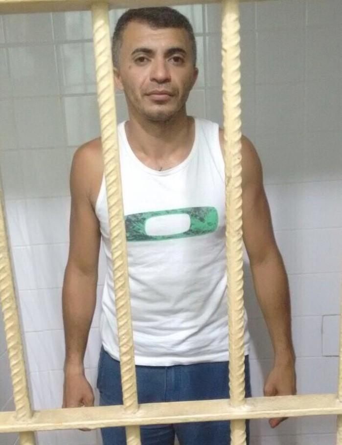 Valmir de Sousa Santos foi preso