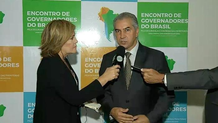 Governador de Mato Grosso do Sul (Crédito: Reprodução/TV Meio Norte)