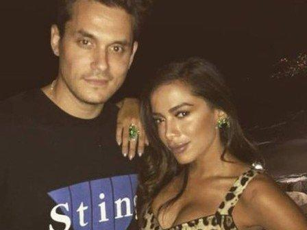 John Mayer tieta e se derrete por Anitta: 'Como se eu a conhecesse'