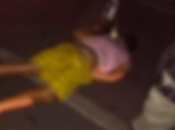 Corpo de jovem morto após acidente em Piripiri (Crédito: Repórter 10)