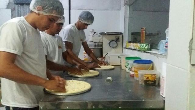 Pizzaria em Fortaleza, no Ceará (Crédito: G1 do Ceará)