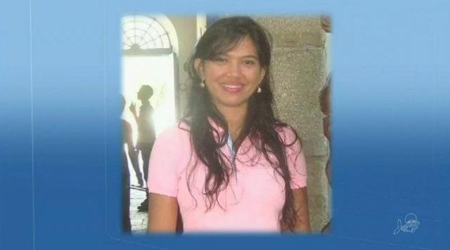 Erivânia Martins foi baleada durante um assalto (Crédito: TV Verdes Mares)